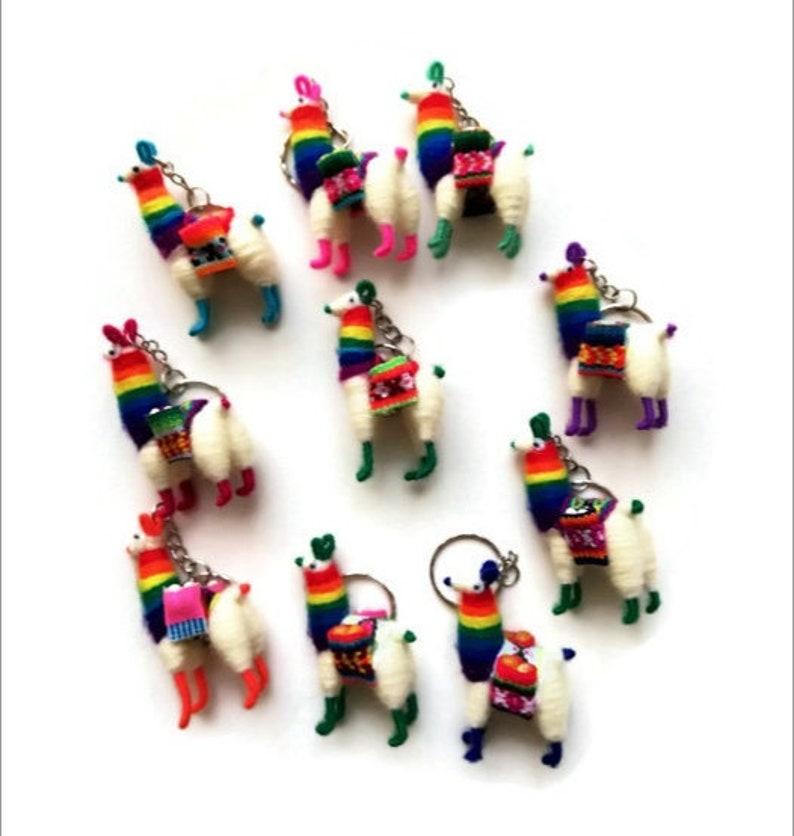 Themed Party Decorations Set of 10 Rainbow Llama Gift Bag Ideas