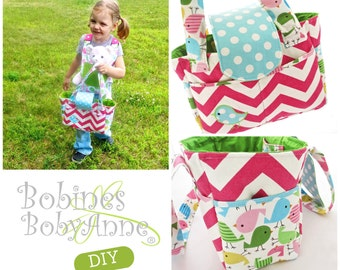 INSTANT DOWNLOAD. Pdf Pattern. Baby Doll Diaper Bag. Pretend Play. Gift. DIY. Sewing.  High quality. Applique available.