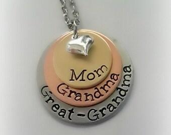 great grandma jewelry etsy