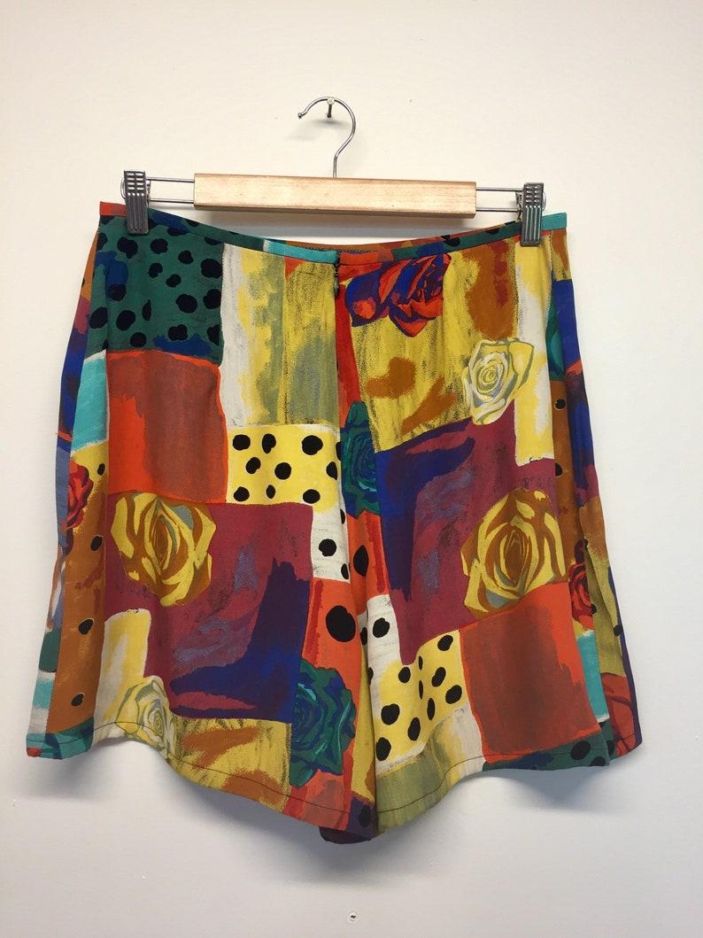 Size 14 90/'s Ojay Retro High Waisted Shorts
