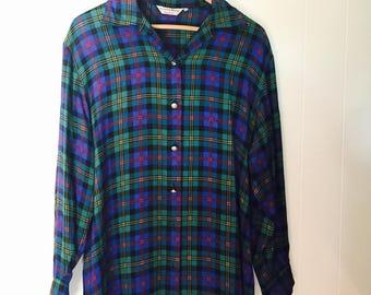 Vintage Checkered Shirt