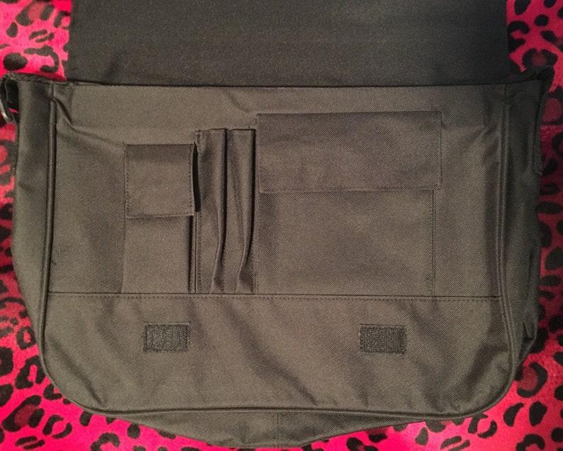 Beetlejuice Cartoon Messenger Bag with Flap