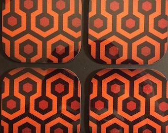 The Shining Hardboard Coasters (Set of 4)