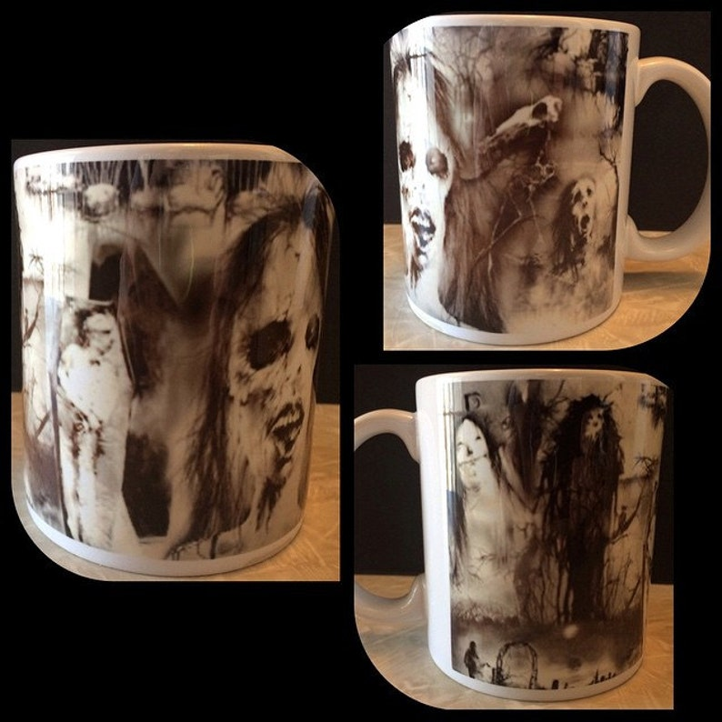 Scary Stories To Tell In The Dark Ceramic Coffee Mug image 0