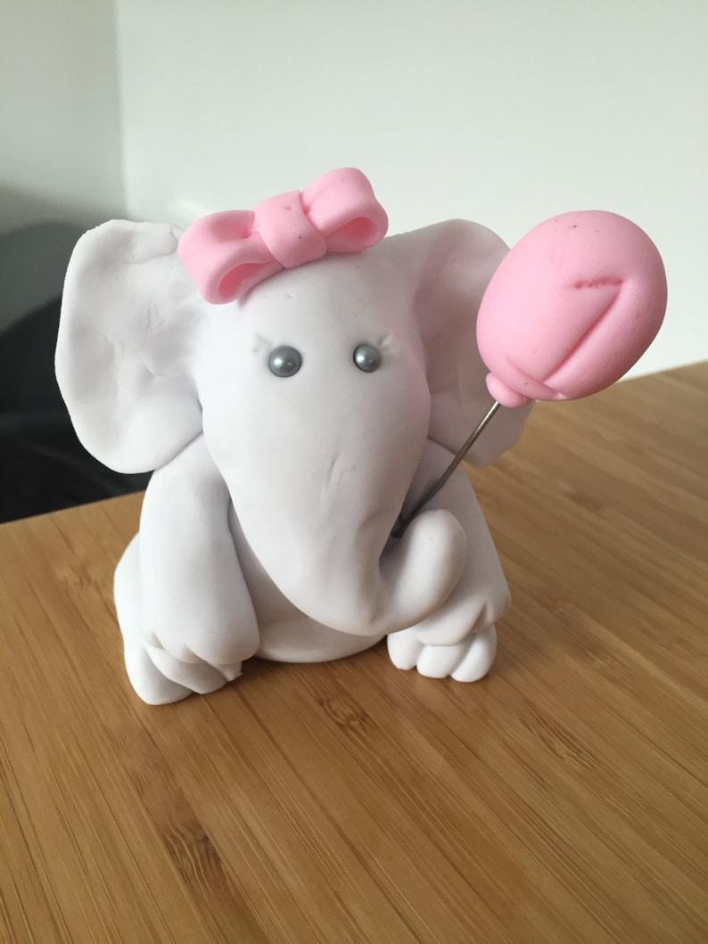 Elephant Cake Topper