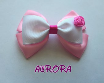 Disney Princess Aurora/Sleeping Beauty Hair Bow/Clip/Headband