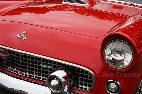 1955 Ford Thunderbird Automobile Photography Classic Cars | Etsy