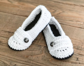 THE BALLERINAS | Cute Women slippers | House shoes | modern crochet slippers | bridal slippers | gift idea for her | cozy slippers