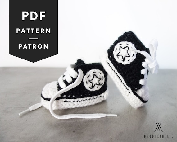 CROCHET PATTERN 013 Cool baby shoes PDF