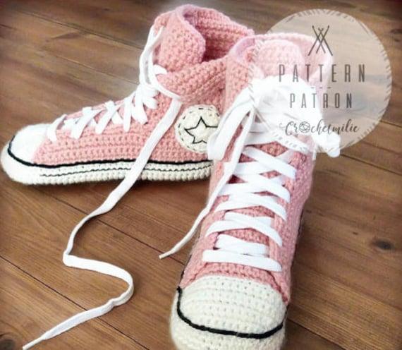 Crochet Pattern 001 Cool Crochet Slippers Instant Etsy