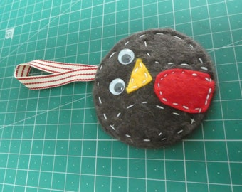 Robin Red Breast, Hanging Christmas Decoration