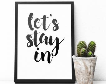 Let's Stay In Art Digital Download