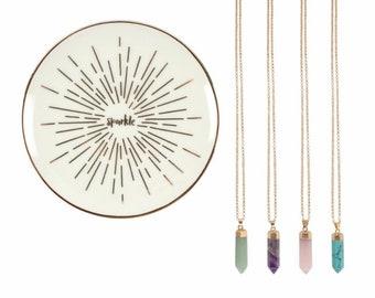 Semi Precious Necklace Set