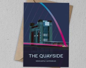Newcastle Gateshead Quayside Card