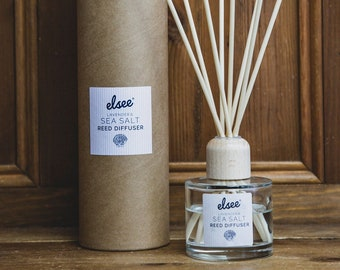 Lavender and Sea Salt Reed Diffuser