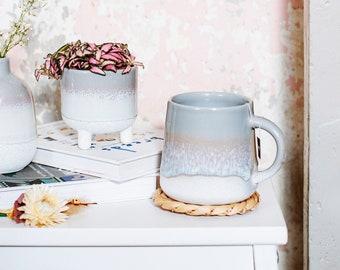 Glazed Grey Mug