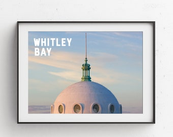 Whitley Bay Dome Photographic Printable