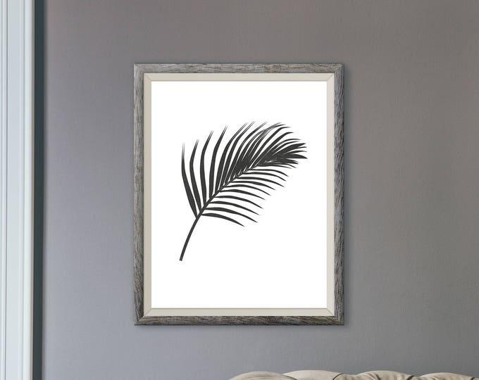 Featured listing image: Tropical Leaf Art Print