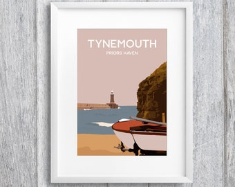 Priors Haven Tynemouth Art Print
