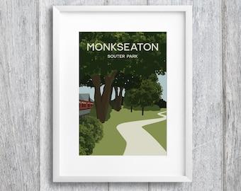 Monkseaton Art Print