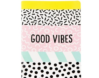 Good Vibes A5 Notebook