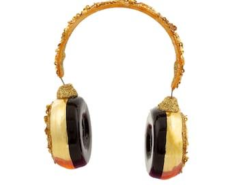 Headphones Handmade Bauble Decoration