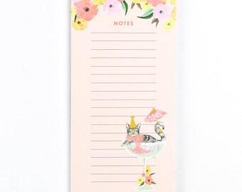 Cat Slim Note Pad