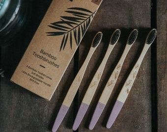 Bamboo toothbrushes Pack