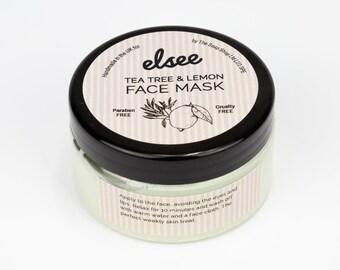 Tea Tree & Lemon Face Mask