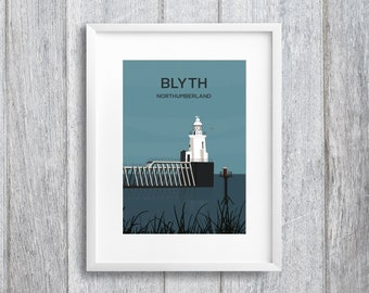 Blyth Northumberland Art Print