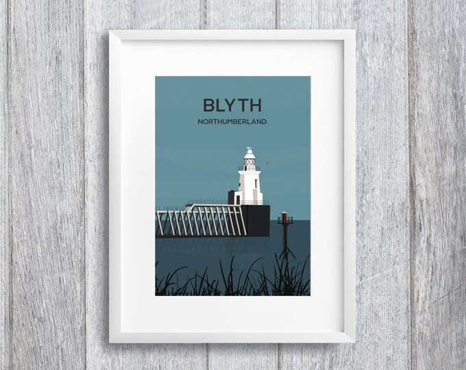 Featured listing image: Blyth Northumberland Art Print