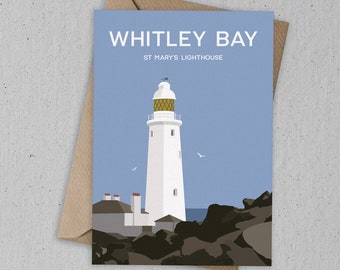 Whitley Bay Art Card
