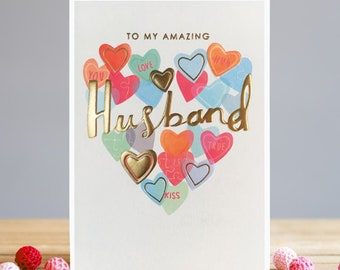 Husband Valentine's Card