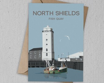 North Shields Art Card
