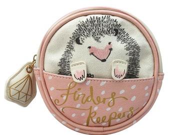 Over the Moon Hedgehog Makeup Bag