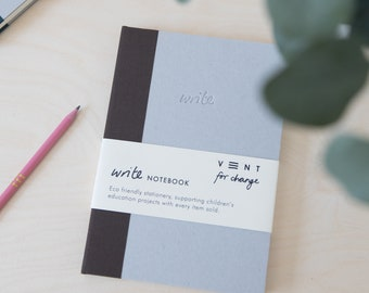 Sustainable A5 Notebook with dotted paper