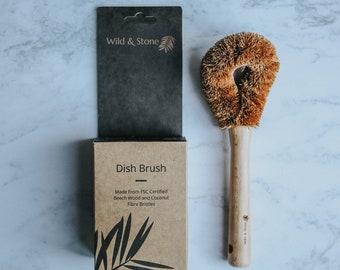 Coconut Fibre Dish Brush