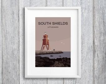 South Shields Art Print
