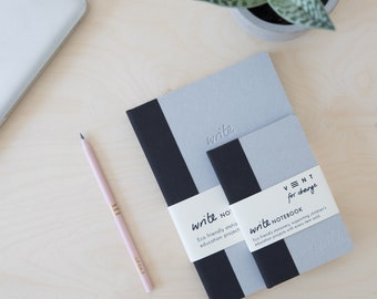 Sustainable Notebook with lined paper