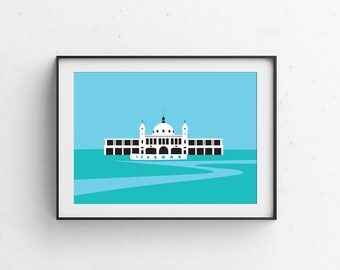 Spanish City (The Dome) Whitley Bay Art Print
