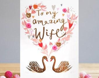 Wife Valentine's Card