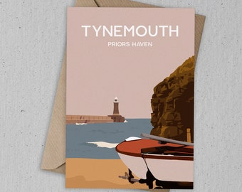 Tynemouth Art Card