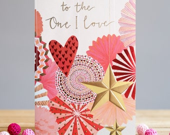 To The One I Love Card