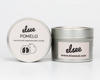 Pomelo  Hand Poured Vegetable Wax Candle