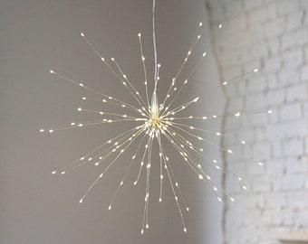 Starburst Hanging Light Decoration