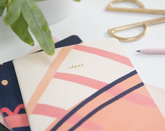 Pink Idea's Recycled Soft Cover sketchbook