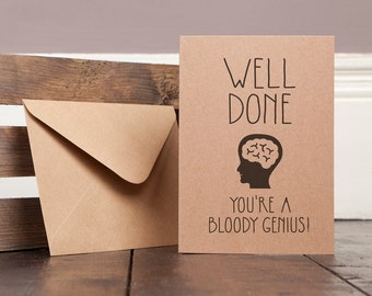 Exam Success Greetings Card