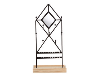 Black Diamond Jewellery Stand
