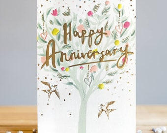 Happy Anniversary Greetings Card