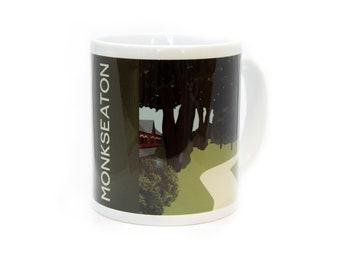 Monkseaton Illustrated Mug